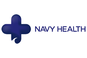 Navy Health logo